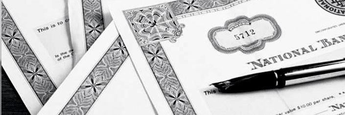 Компании с лицензиями на ценные бумаги